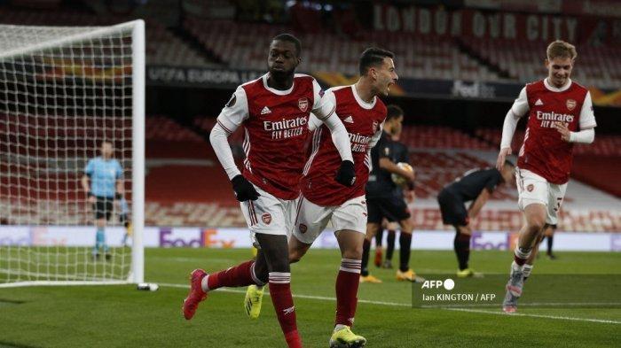 HASIL Liga Eropa, Nasib Arsenal Terancam, Nicolas Pepe Enggan Kibarkan Bendera Menyerah