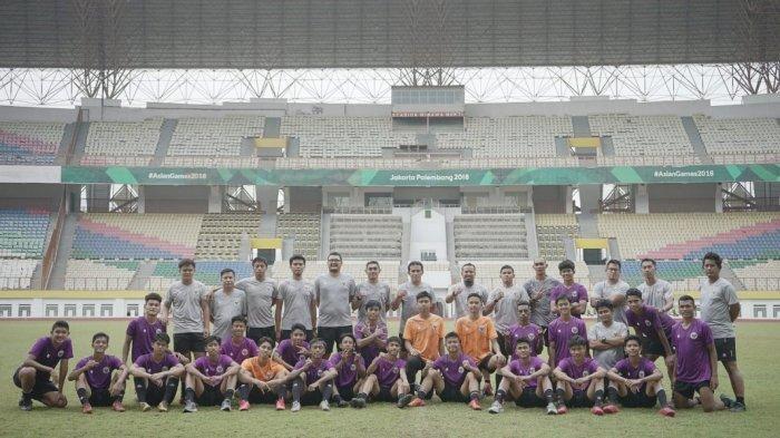 Indonesia U-16 di Laga Uji Coba Kedua Kontra UEA U-16 Bakal Rotasi Pemain kata Bima Sakti