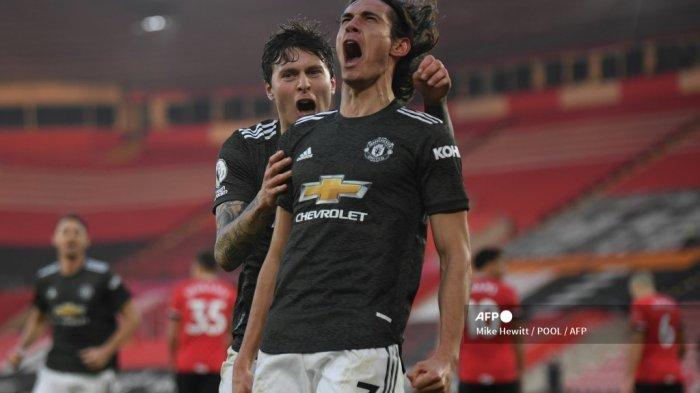 JADWAL Liga Inggris Manchester United vs Liverpool, Solskjaer Ingin Cavani Bertahan di Old Trafford